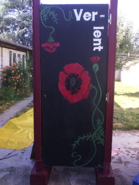 Cabine fleur ext